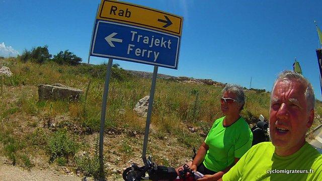 selfie ferry montée côte