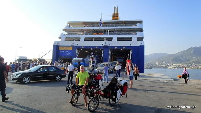 En route pour la dernière île grecque